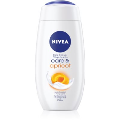 NiveaCare Shower Apricot