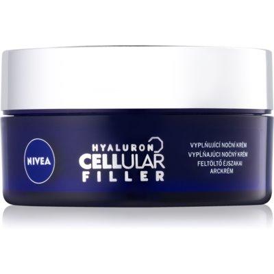 Nivea Hyaluron Cellular Filler заполняющий морщины ночной крем