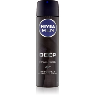 Nivea Men Deep Antiperspirant Spray 48 tim