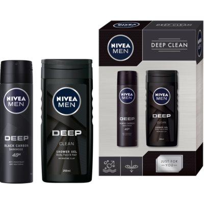 Nivea Men Deep σετ δώρου VIII. (για άντρες)