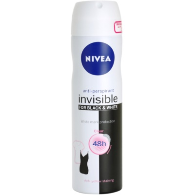 NiveaInvisible Black & White Clear
