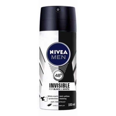 Nivea Men Invisible Black & White antitranspirante en spray para hombre