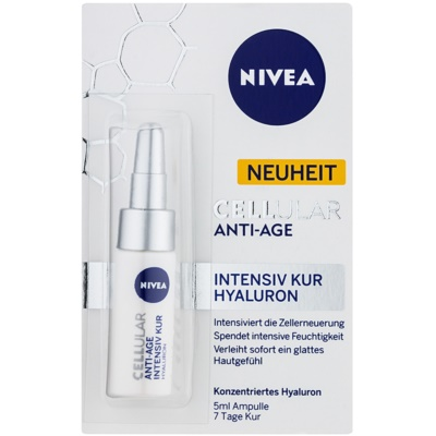 Nivea Cellular Anti-Age tratament intens de intinerire cu acid hialuronic