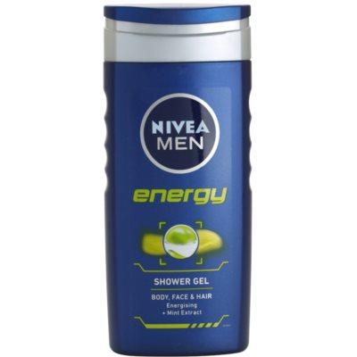 Nivea Men Energy sprchový gel na tvář, tělo a vlasy