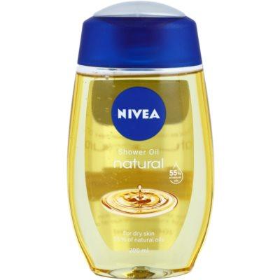 Nivea Natural Oil масло для душа для сухой кожи
