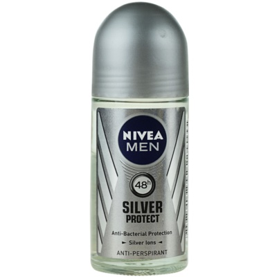 Nivea Men Silver Protect antitraspirante roll-on per uomo