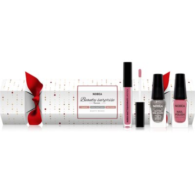 NOBEA Beauty Surprise Christmas Cracker Nude косметический набор для женщин