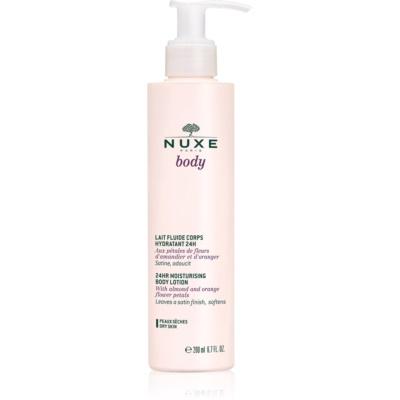 Nuxe Body nawilżające mleczko do ciała do skóry suchej