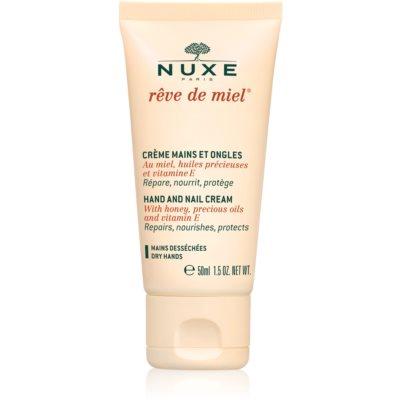 Nuxe Rêve de Miel eine Crem zum Schutz von Händen und Nägeln für trockene Haut