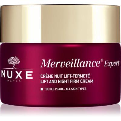 Nuxe Merveillance Expert укрепляющий ночной крем с эффектом лифтинга