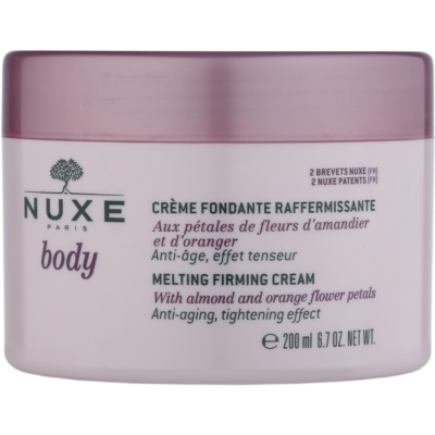 Nuxe Body укрепляющий крем для тела против старения кожи