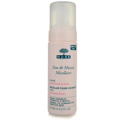 Nuxe Cleansers and Make-up Removers очищающая пенка для нормальной и смешанной кожи