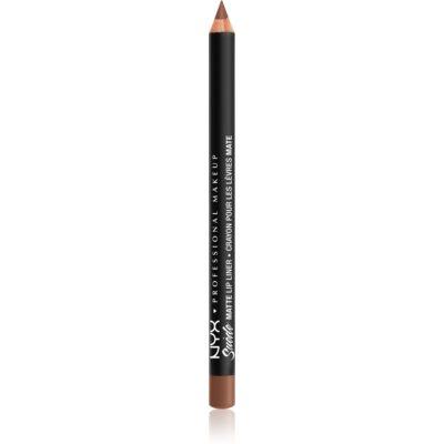 NYX Professional Makeup Suede Matte  Lip Liner matita labbra matte