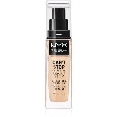 NYX Professional Makeup Can't Stop Won't Stop тональный крем