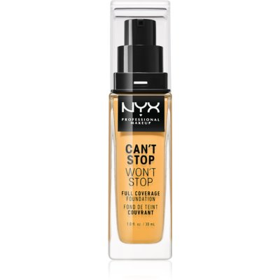 NYX Professional Makeup Can't Stop Won't Stop тональный крем