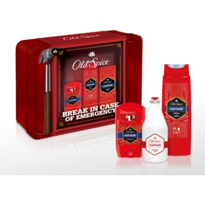 Old Spice Captain Gift Set  III. (voor Mannen )