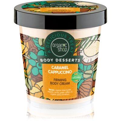 Organic ShopBody Desserts Caramel Cappuccino
