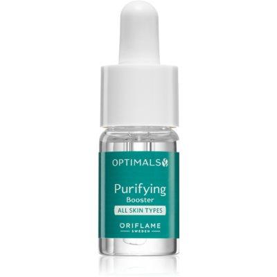 Oriflame Optimals concentrato ringiovanente per una pulizia perfetta della pelle