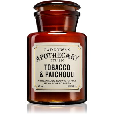 Paddywax Apothecary Tobacco & Patchouli vela perfumada