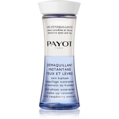 Payot Les Démaquillantes двухфазное средство для снятия водостойкого макияжа для области вокруг глаз и губ