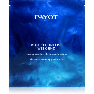 Payot Blue Techni Liss prejasňujúca peelingová maska