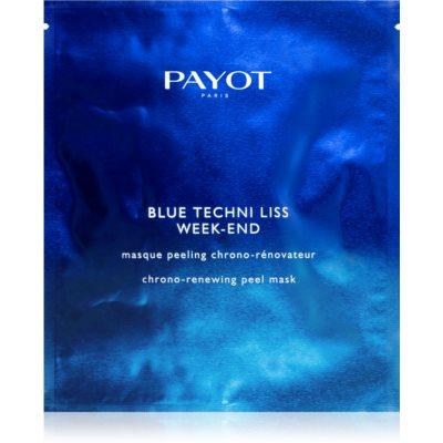 Payot Blue Techni Liss освітлююча маска-пілінг