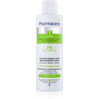 Pharmaceris T-Zone Oily Skin Sebo-Almond-Claris woda oczyszczająca do skóry tłustej i problematycznej