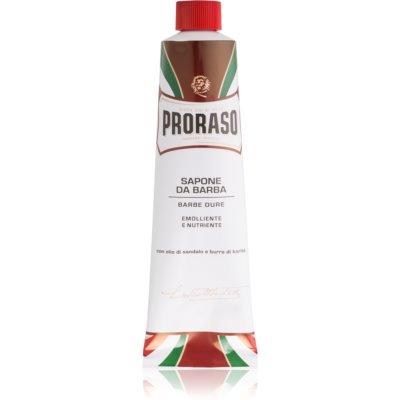 Proraso Emolliente E Nutriente borotvaszappan erős szakállra tubusban