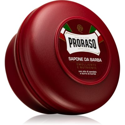 Proraso Emolliente E Nutriente Shaving Soap for Coarse Facial Hair