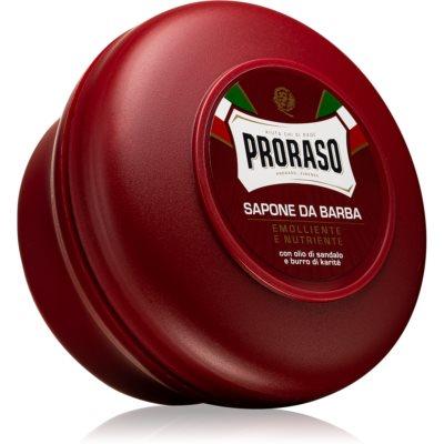 Proraso Emolliente E Nutriente мыло для бритья для жесткой бороды