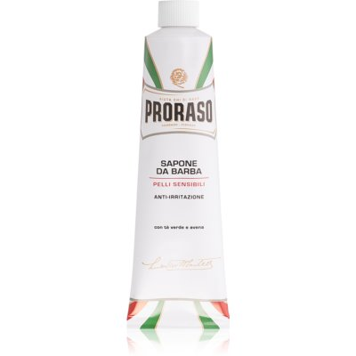 Proraso White Shaving Soap for Sensitive Skin In Tube