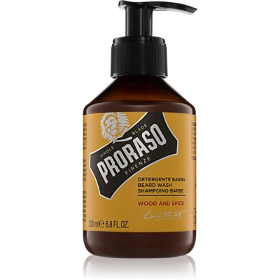 Proraso Wood and Spice shampoing pour barbe