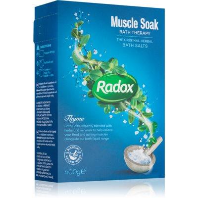 RadoxMuscle Soak