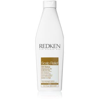 Redken Scalp Relief šampón pre rýchlo sa mastiace vlasy