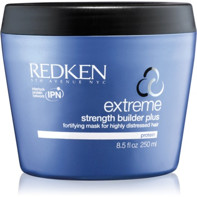 Redken Extreme Strength Builder Plus Regenerating Mask For Damaged, Chemically Treated Hair
