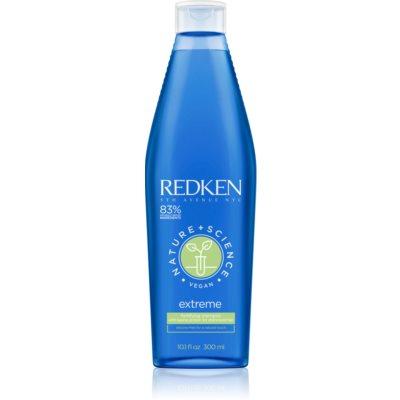 Redken Nature+Science Extreme intenzívny šampón pre poškodené a krehké vlasy