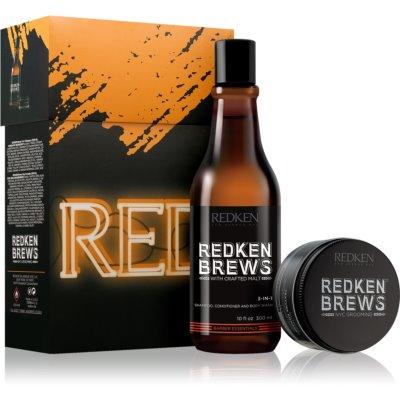 Redken Brews подаръчен комплект II. за мъже