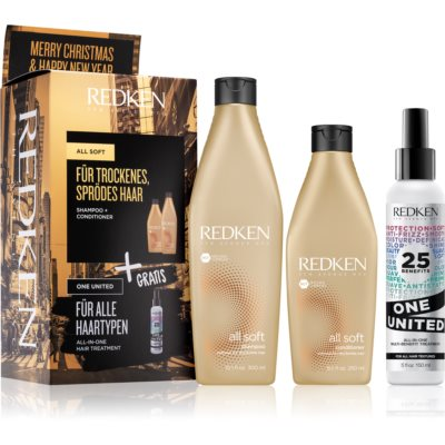 Redken All Soft lote de regalo I. (para cabello seco y delicado)