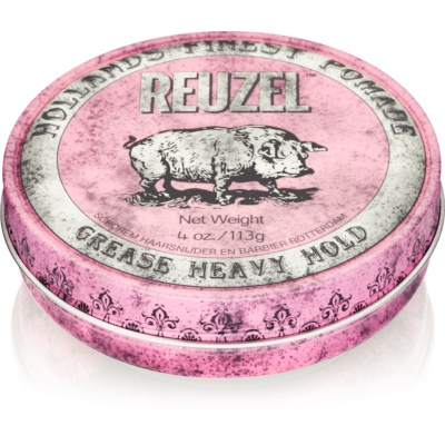Reuzel Hollands Finest Pomade Grease hajpomádé erős fixálás