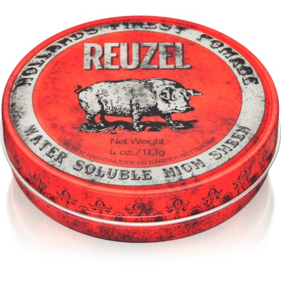 Reuzel Hollands Finest Pomade High Sheen pomata per capelli con brillantezza intensa
