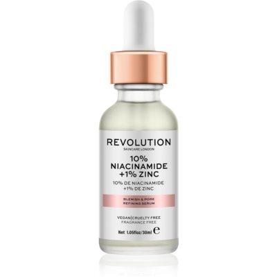Revolution Skincare 10% Niacinamide + 1% Zinc siero per pori dilatati