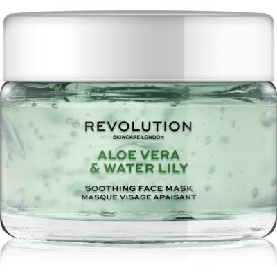 Revolution Skincare Aloe Vera & Water Lily beruhigende Hautmaske
