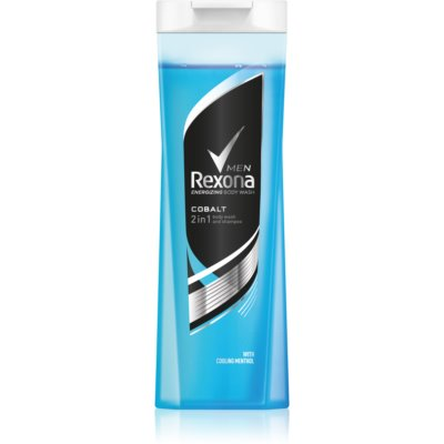 Rexona Cobalt Shower Gel And Shampoo 2 In 1