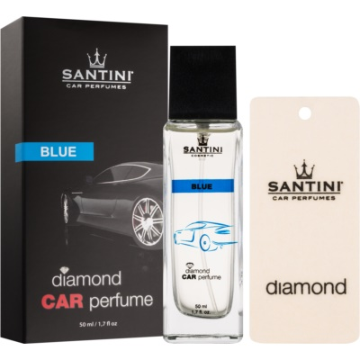 SANTINI Cosmetic Diamond Blue vůně do auta
