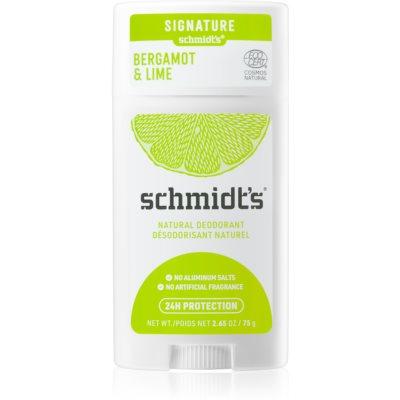 Schmidt's Bergamot + Lime déodorant solide