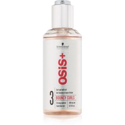 Schwarzkopf Professional Osis+ Bouncy Curls Gel met Olie voor Krullen