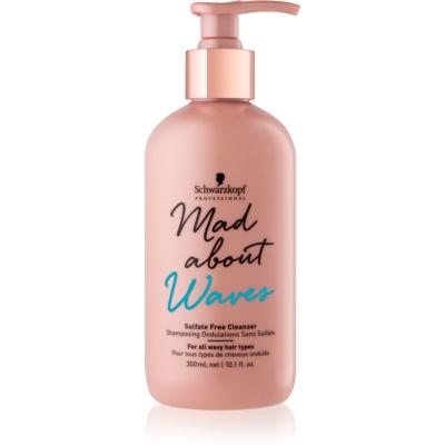 Schwarzkopf Professional Mad About Waves shampoo idratante capelli mossi e ricci non contiene solfati