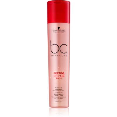 Schwarzkopf Professional BC Bonacure Peptide Repair Rescue micelarni šampon za oštećenu kosu