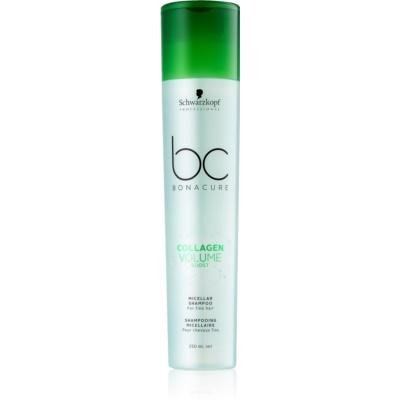 Schwarzkopf Professional BC Bonacure Volume Boost champú micelar para cabello sin volumen
