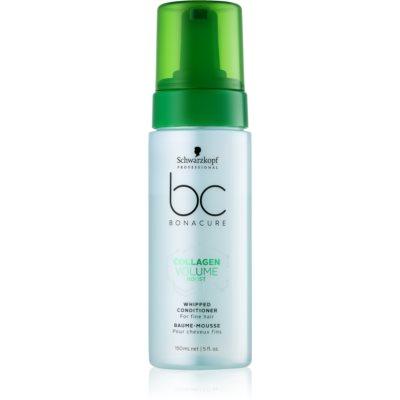 Schwarzkopf Professional BC Bonacure Volume Boost balsamo in schiuma per capelli delicati